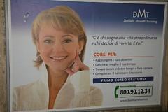 Mavvaff (mac_teo) Tags: roma metropolitana pubblicità cartellone facciadaculo autostima