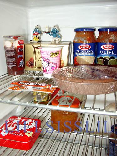 My fridge...