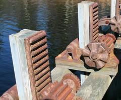 Lock Mechanism (scottnj) Tags: usa lake water america newjersey lock nj rusty crusty scottnj