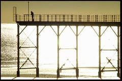Bognor Pier (Trevs Photos) Tags: world sunset sea summer england sun beach sussex coast pier seaside sand westsussex butlins southcoast groyne