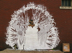 Work in Progress - Swoon, 6th & Talbot, Braddock, PA