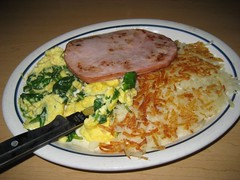 James' Green Eggs, Ham & Hash Browns. (04/13/2008)