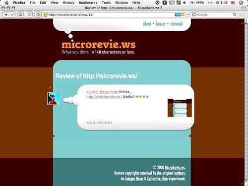 microrevie.ws