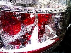 red passion (monyart) Tags: red macro water rain amsterdam passion girlpower monyart