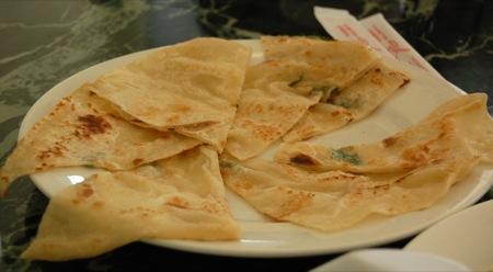 Kam Hong Garden: Spring onion pancake