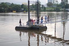 Getting off (spOt_ON) Tags: jetty sarawak kuching sarawakriver eastmalaysia