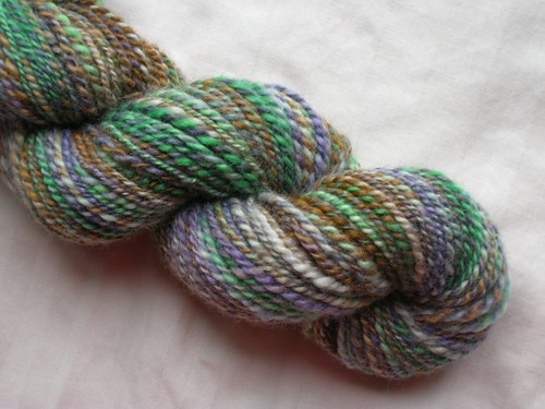 BFL handspun (by aswim in knits)