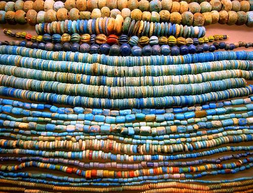 Faience Beads