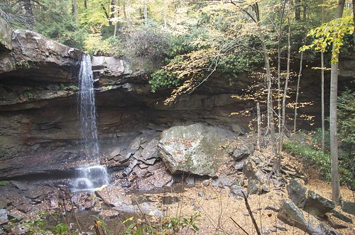 Waterfall at Ohiopyle SP