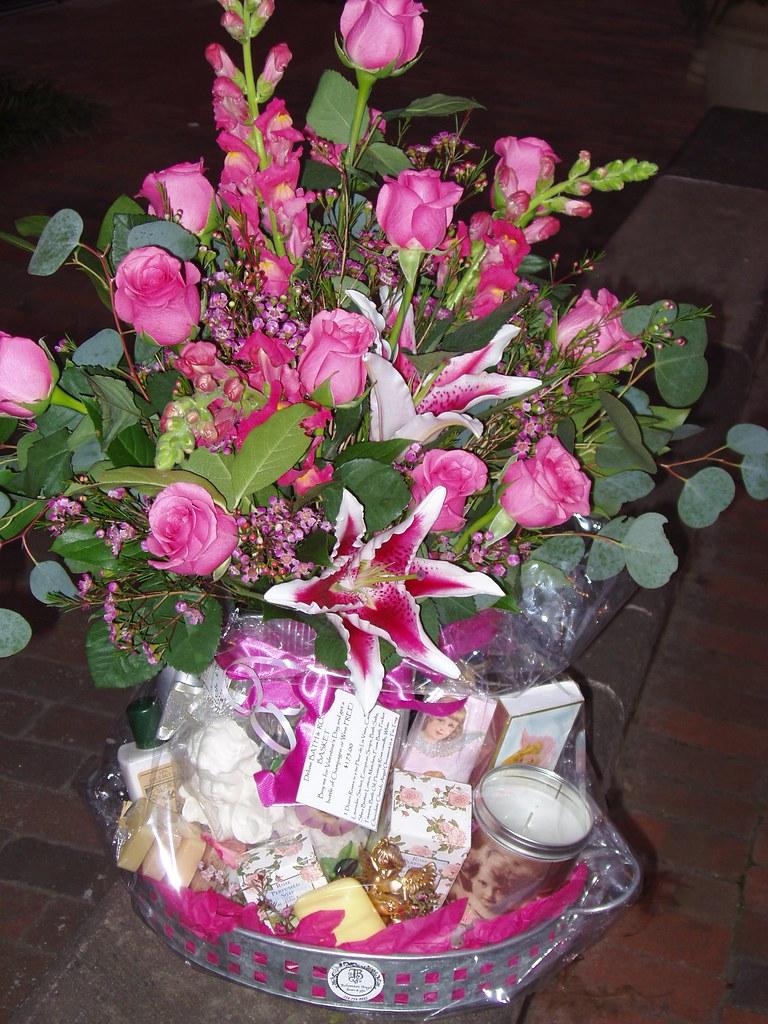 Flower & Bath Basket