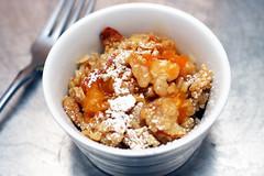 Breakfast Apricot Crisp