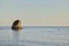 Freshwater Bay (Martin P Perry) Tags: rock freshwater kayak bay freshwaterbay