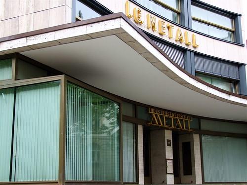 Haus des Deutschen Metallarbeiterverbandes (IG Metall) by Erich Mendelssohn