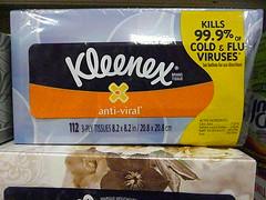 Anti-viral Kleenex