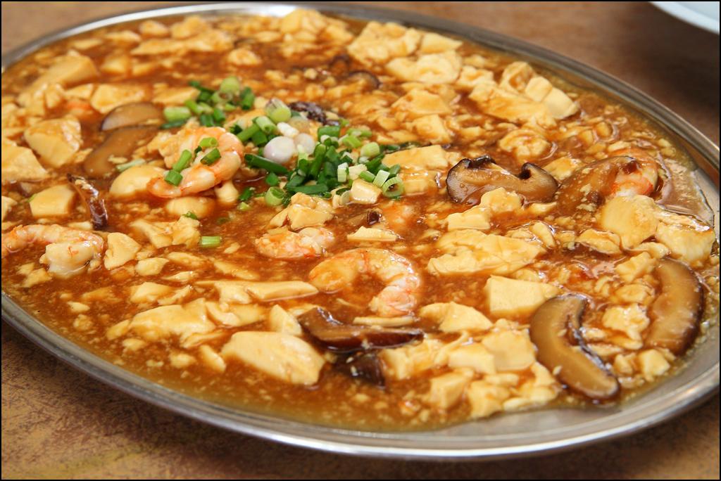 prawn-tofu