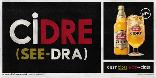 Stella Artois - It's Cidre, not Cider