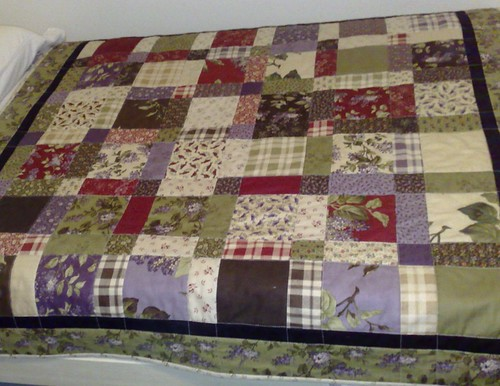 Lilac Time Quilt by Duck Tales