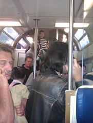 Un treno allucinante sulla Milano - Torino