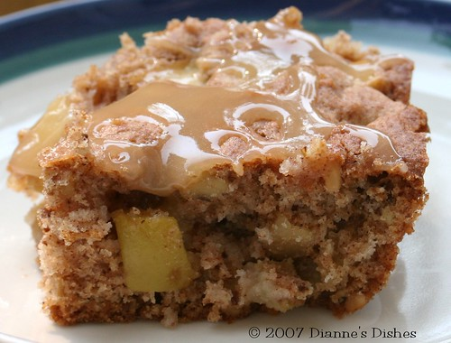 "Caramel Apple ""Brownies"""