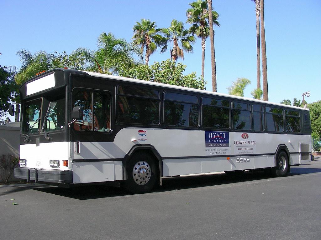 Hotel-Disneyland Bus