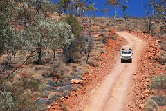 'Exploration must not adversely impact on the highly awarded ecotourism operations' - the rigetop tour near Mount Gee - link to my 'Arkaroola - would U mine it?' set on flickr