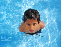 .. (Missy | Qatar) Tags: blue black water pool swimming eyes tan sharp clear miss pure qatar alkhater 3bdal3ziz 3zozy thebestofday gnneniyisi missyqatar