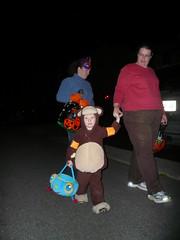 Trick or Treat! (DNAMichaud) Tags: halloween monkey geoffrey 2007