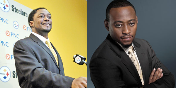 Mike Tomlin And Omar Epps