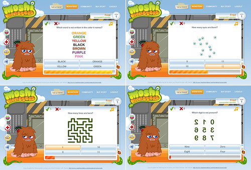 moshi monster answering puzzles