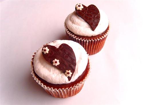 Bar one cupcake