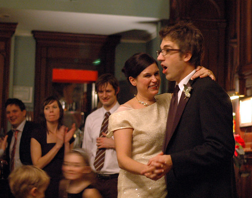 Dan and Christine dancing