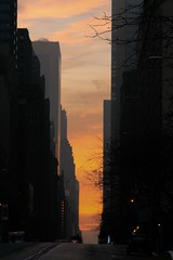 Early Morning on 57th Street (snow_gibbon) Tags: newyork delete10 sunrise delete9 delete5 delete2 delete6 delete7 save3 delete8 delete3 delete delete4 save save2 save4 57thstreet