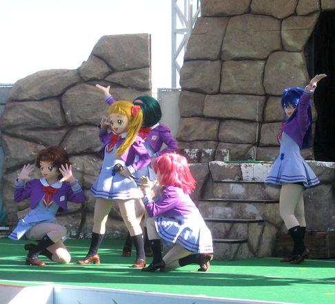 よみうりランドプリキュアショー2007.Dec.31