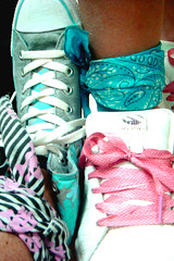 N & R ... Me 4 You & You 4 Me (!! RMs Photography !!) Tags: pink blue me sports shoes you