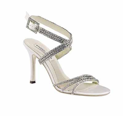 Benjamin Adams bridal shoes, astor