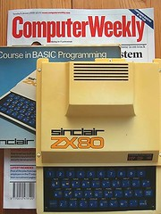 Neil Slater's Sinclair ZX80 (Computer Weekly) Tags: hardware retro oldest sinclair zx80 computerweekly hoarders hardwarehoarders