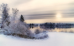 Winter Mood (Krogen) Tags: winter norway river landscape norge vinter january norwegen noruega nes scandinavia akershus orton januar romerike krogen landskap elv noorwegen noreg skandinavia naturesfinest glomma udnes olympuse400 naturewatcher betterthangood redynamix