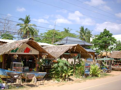 Pueblo de isla