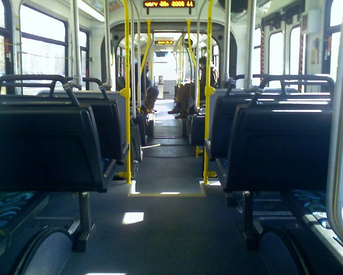 Empty NS bus