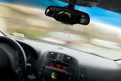SRX 1:01 (FrankGuido) Tags: road motion texture me car myself naked photo nikon driving dof cadillac nikkor srx 18200mmf3556gvr d80 cadillacsrx nikond80 frankguido