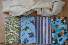 Fabric for Bibs for Jack (Adelle L) Tags: sewing fabric 2008 bibs