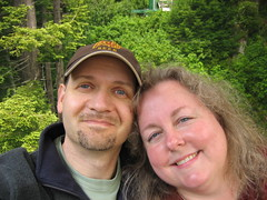 Us in the Redwoods June 2007