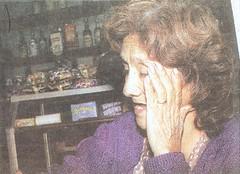 Olinda Ríos, madre de víctima del Grupo Colina