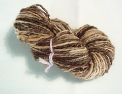 Handspun single ply