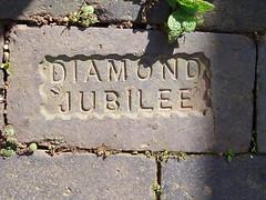 Diamond Jubilee Brick (amandabhslater) Tags: brick jubilee victoria queen diamond 1837 1897 bigpicture2008 coventryandwarwickshire
