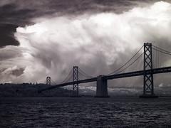 Cloud over Oakland (smashz) Tags: bridge cloud ir oakland bay infrared smashz diamondclassphotographer
