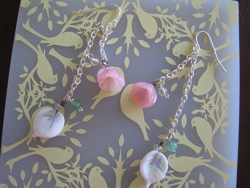 Bead Simple Earrings