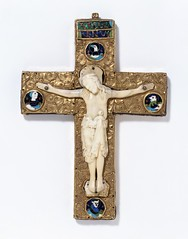 Reliquary Cross, about 1000. Museum no. 7943-1862.