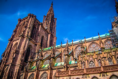 Strasbourg Cathedral Notre Dame (mbell1975) Tags: our france church abbey lady de europe cathedral dom gothic kathedrale kirche eu chapel notredame strasbourg cathdrale alsace strasburg notre dame minster glise eglise churchofourlady zu kirke kapelle strassburg liebfrauenmnster