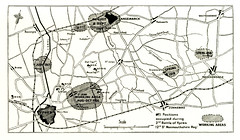 Positions of 2nd Monmouthshires